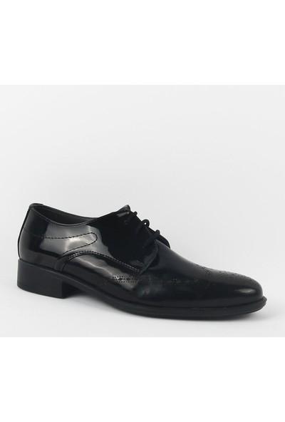 Zeki Narin 435-05 Erkek Klasik Ayakkabı Siyah