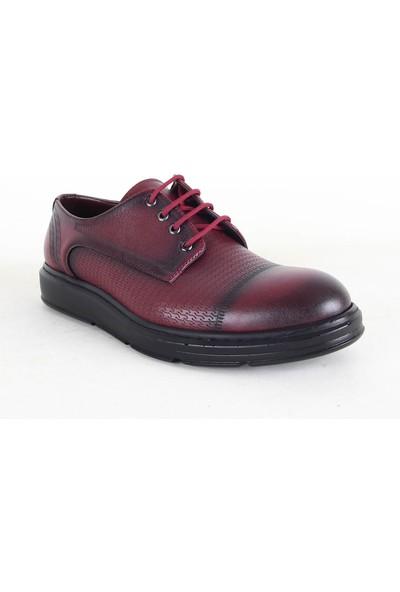Zeki Narin 3045 Erkek Günlük Ayakkabı Bordo