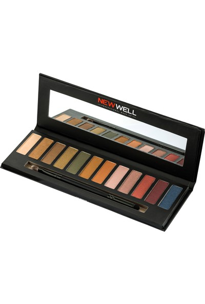 New Well Porselen Make-Up Far Paleti 12'lı