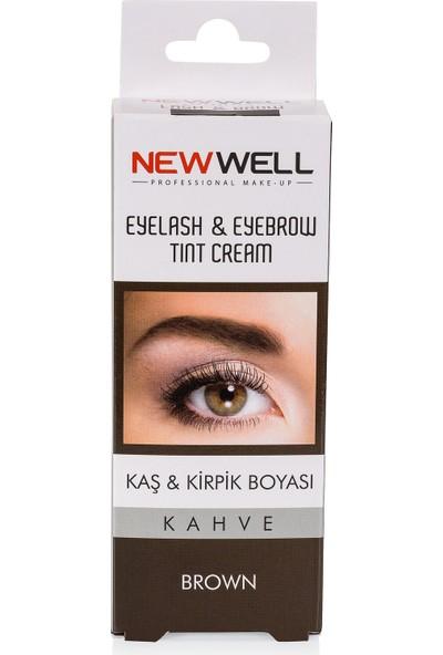 New Well Kaş&Kirpik Boyası Kahve