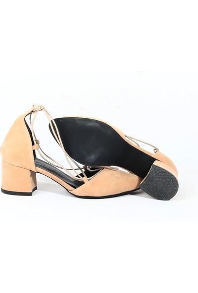 Chica Secreto 303 Bayan Topuklu Ayakkabı Bej