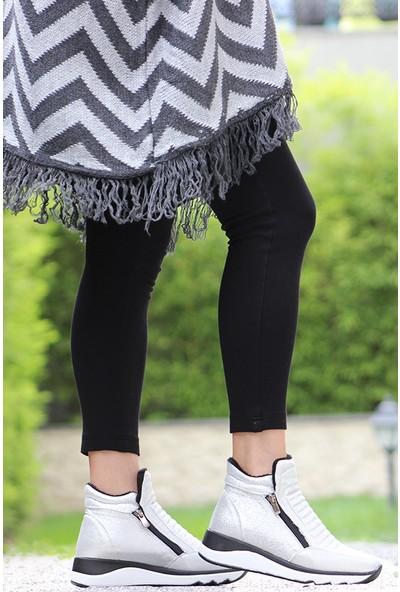 Rovigo Plus Kadın Gümüş Ayakkabı