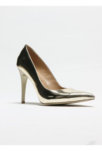Rovigo Plus Kadın Altın Ayakkabı