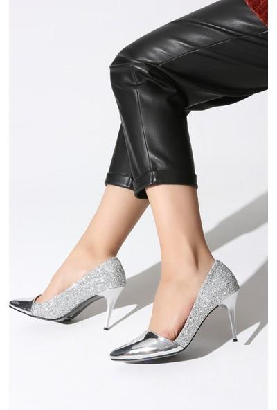 Rovigo Plus Kadın Lame Ayakkabı