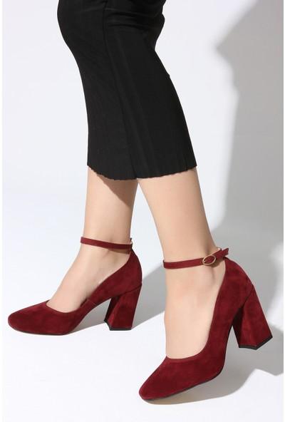 Rovigo Plus Kadın Bordo Ayakkabı