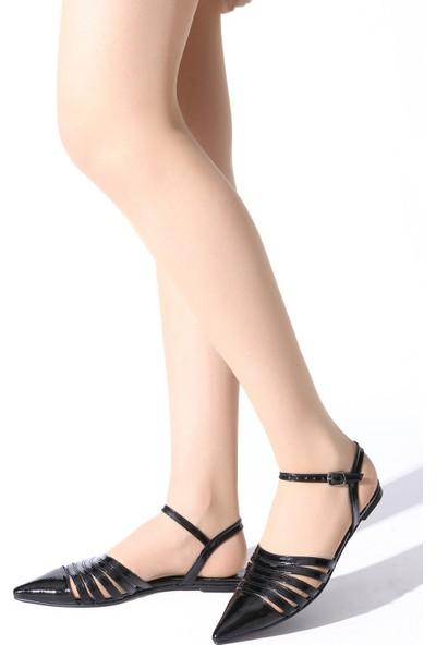Rovigo Plus Kadın Siyah Ayakkabı