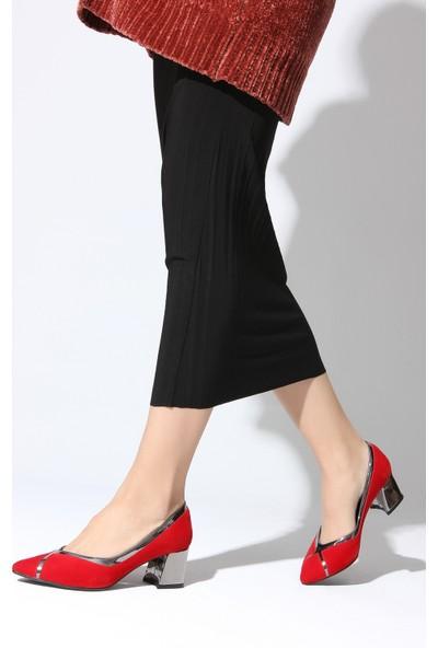 Rovigo Plus Kadın Kırmızı Ayakkabı