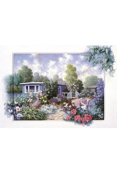 Art Puzzle Çiçekli Bahçe 500 Parça Puzzle