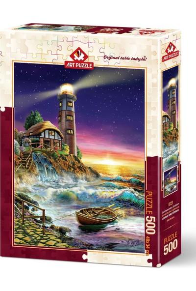 Art Puzzle Deniz Fenerinden Günbatımı 500 Parça Puzzle