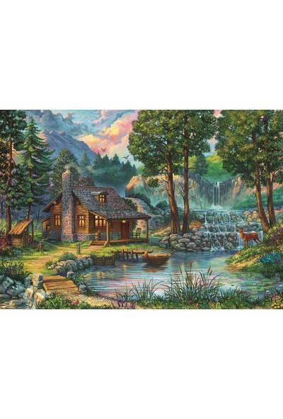 Art Puzzle Masal Evi 1000 Parça Puzzle