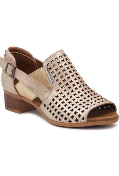Mammamia D19Ya 985 Bej Terlik Sandalet