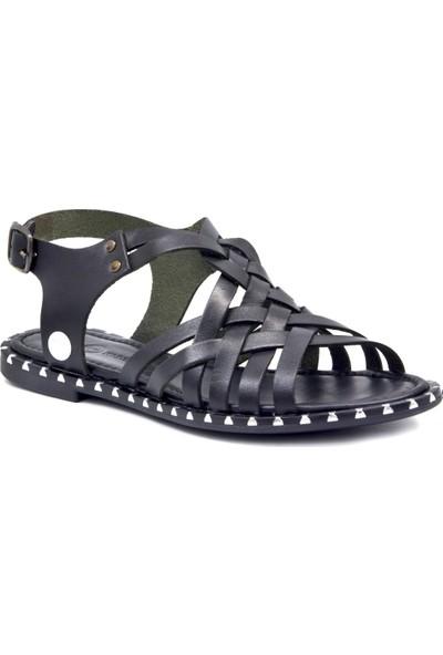 Mammamia D19Ys 1140 Siyah Terlik Sandalet