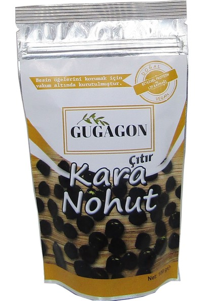 Gugagon Tuzlu Çıtır Kara Nohut, 100 gr