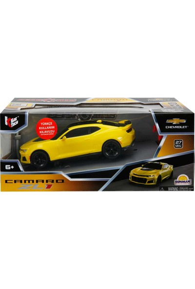 Kidztech Işıklı Chevrolet Camaro Yarış Arabası