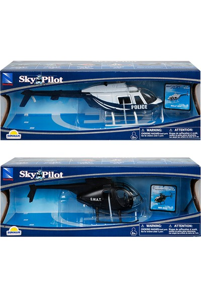 New Ray Sky S.W.A.T Polis Helikopter