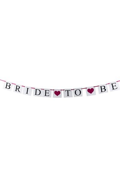 Partifabrik Bride To Be Sandalye Arkası Yazı