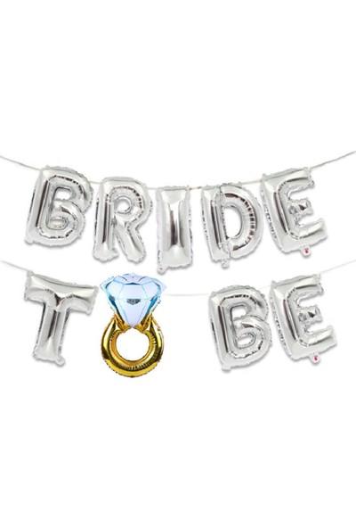 Partifabrik Bride To Be Folyo Balon Set