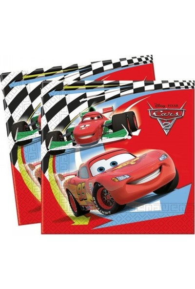 Partifabrik Cars Kağıt Peçete 33x33cm