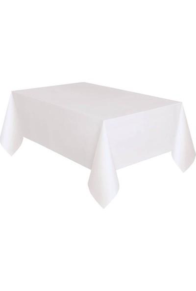 Partifabrik Masa Örtüsü Plastik Beyaz