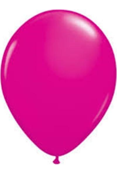 Partifabrik Fuşya Renk Mat Pastel Balon 5'li