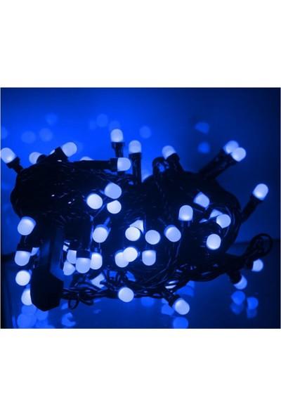 Partifabrik Yılbaşı Led Işık Mavi Renk 8 mt