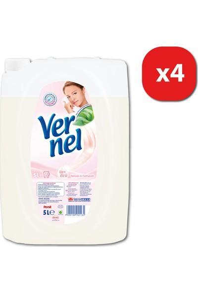 Vernel Çamaşır Yumuşatıcısı Hassas&Yumuşak 5 lt 50 yıkama x Mix 4 lü