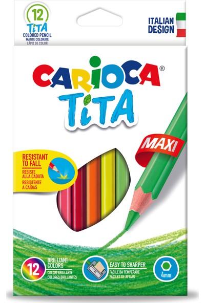 Carioca Tita Maxı Kuru Boya Kalemi 12'Li
