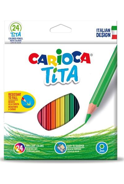 Carioca Tita Kuru Boya Kalemi 24'Lü