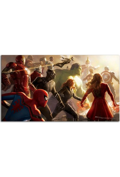 Tablo Kanvas Avengers Tablo