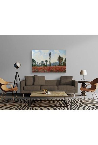 Tablo Kanvas Claude Monet - Campo di Papaveri Tablo