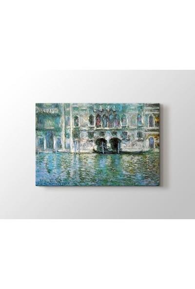 Tablo Kanvas Claude Monet - Il Palazzo Da Mula a Venezia Tablo