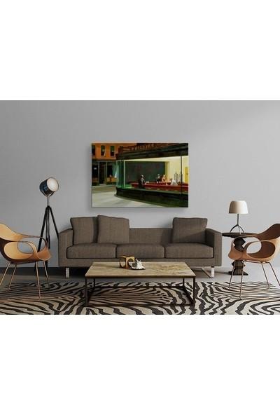 Tablo Kanvas Edward Hopper - Nighthawks Tablo