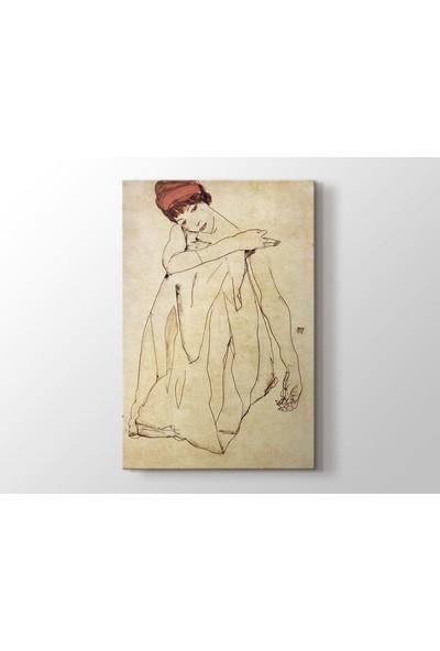 Tablo Kanvas Egon Schiele - Die Tanzerin Tablo