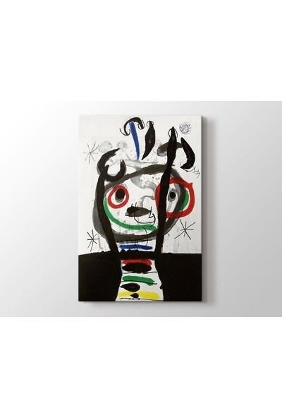 Tablo Kanvas Joan Miro - Le Grand Sorcier Tablo
