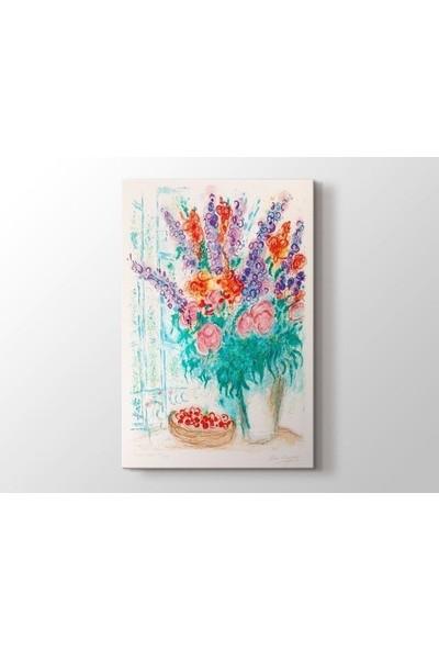 Tablo Kanvas Marc Chagall - Le Grand Bouquet Tablo