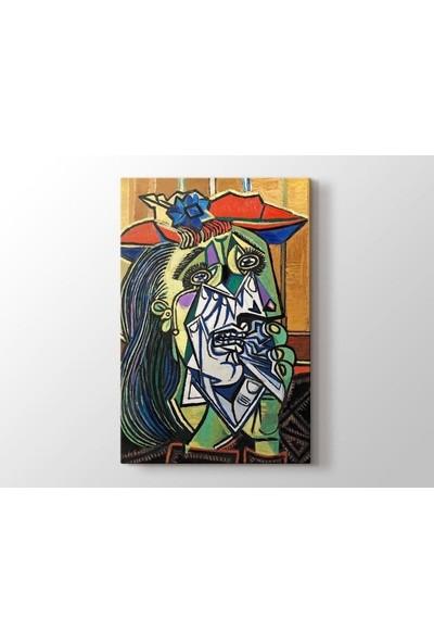 Tablo Kanvas Pablo Picasso - The Weeping Woman - Ağlayan Kadın Tablo