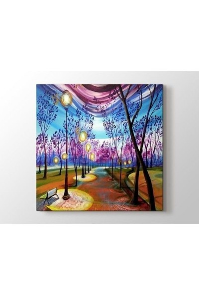 Tablo Kanvas Timothy Sorsdahl - From Dusk like Candlesticks Light my Path till Dawn Tablo