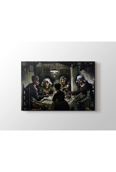 Tablo Kanvas Vincent van Gogh - The Potato Eaters Tablo