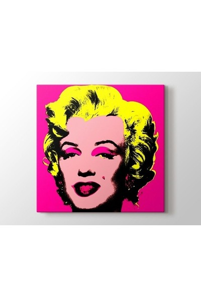 Tablo Kanvas Andy Warhol - Marilyn in Pink Tablo