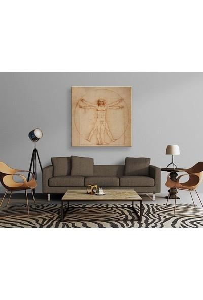 Tablo Kanvas Leonardo da Vinci - Vitruvian Man Tablo