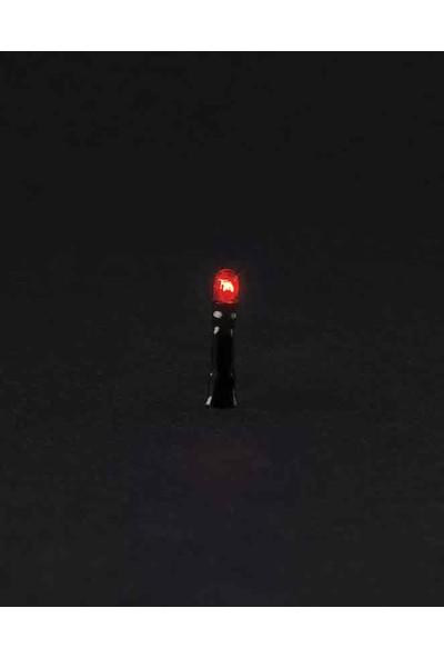Eshel Maket Lamba 6V - 4'lü - Kırmızı