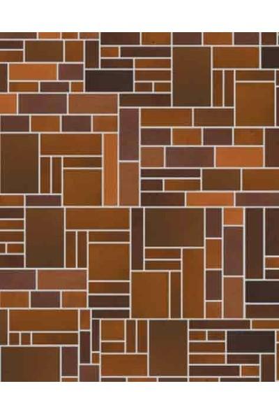 Eshel Maket Desenli Karton Duvar Geometrik 1/100 - 3'lü