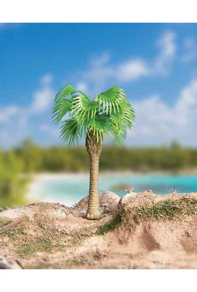 Eshel Maket 3'lü Set Palmiye Ağacı 6cm