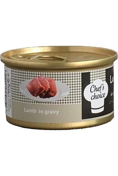 Chefs Choice Kuzu Eti Soslu Kedi Konservesi 80 Gr