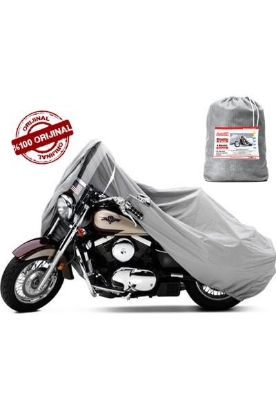 AutoEN Premium Victory Chopper Serisi Motosiklet Brandası Miflonlu Kalın