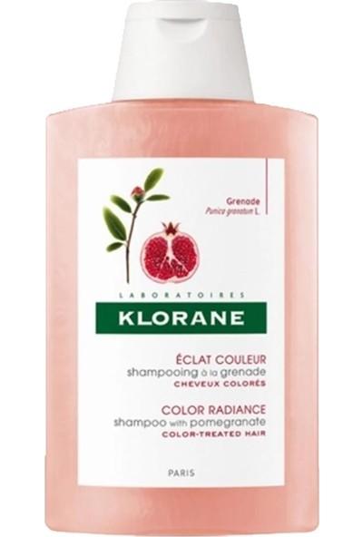 Klorane Nar Ekstresi İçeren Boyalı Saçlar İçin Renk Koruyucu Bakım Şampuanı 400 ml