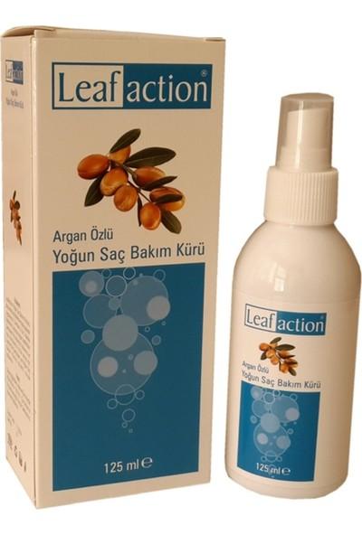 Leaf Action Argan Özlü Yoğun Saç Bakım Kürü 125 ml (Tunalı Lokman Hekim)