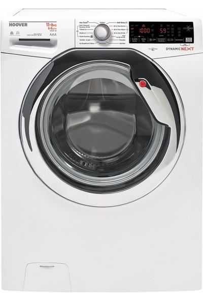 Hoover WDXOA4118AH/1-17 A 11 Kg Yıkama 8 Kg Kurutma NFC Bağlantılı 1400 Devir Çamaşır Makinesi