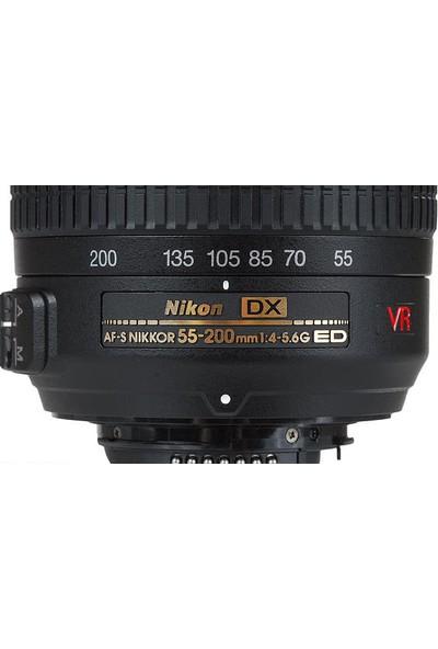 Nikon AF-S DX 55-200mm VR II Lens (Distribütör Garantili)