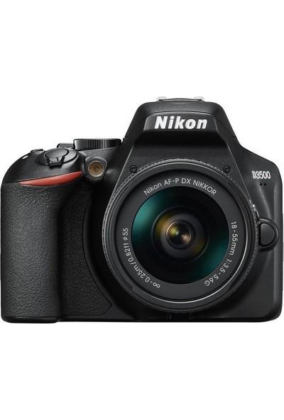 Nikon D3500 AF-P 18-55mm Fotoğraf Makinesi (Distribütör Garantili)